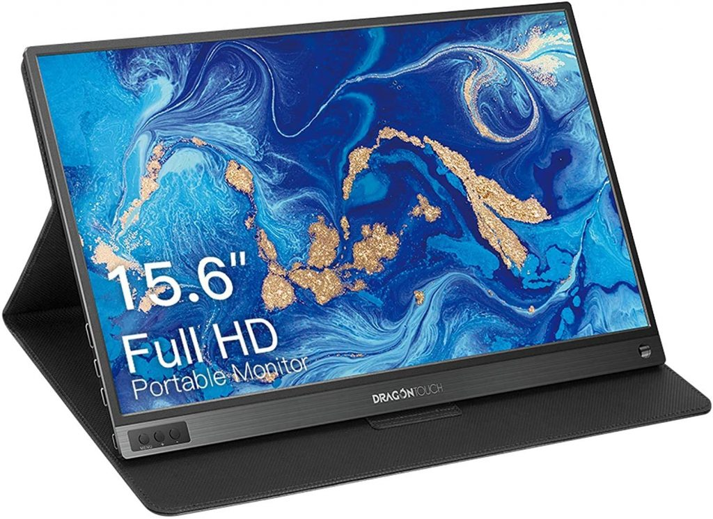 Dragon Touch S1 15.6'' Full HD 1080P USB Type-C Portable Monitor